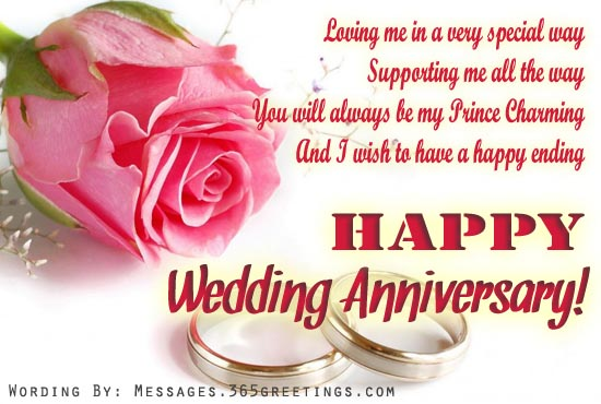 Wedding Anniversary Messages For My Husband