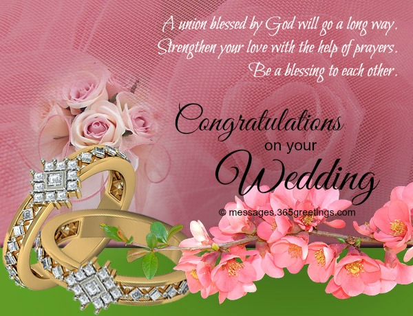 Wedding wishes and messages 365greetings wedding congratulations wishes m4hsunfo