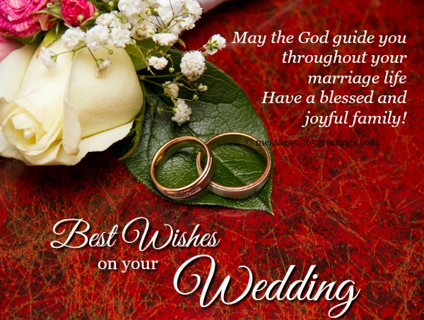 Wedding wishes and messages 365greetings wedding wishes m4hsunfo