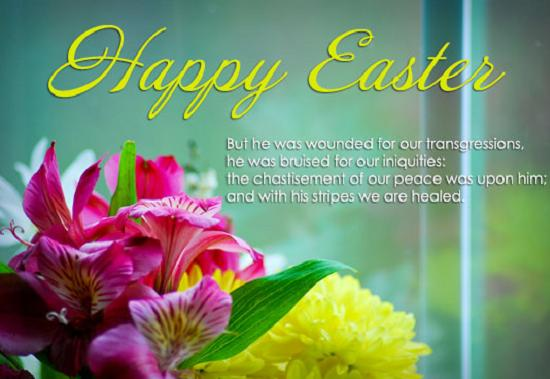Bible Verses about Easter 365greetings – Easter Greeting Card Sayings