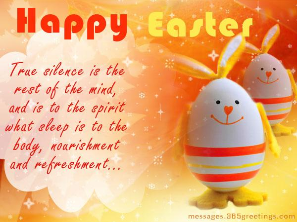 Happy easter wishes and messages 365greetings easter greeting card m4hsunfo