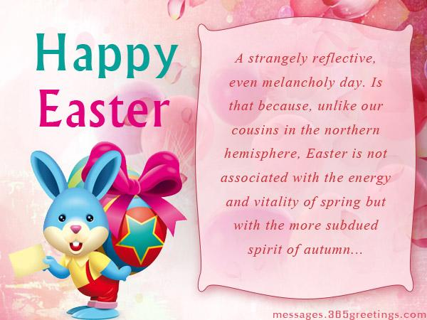Christian Easter Greetings And Messages 365greetings – Easter Messages for Cards