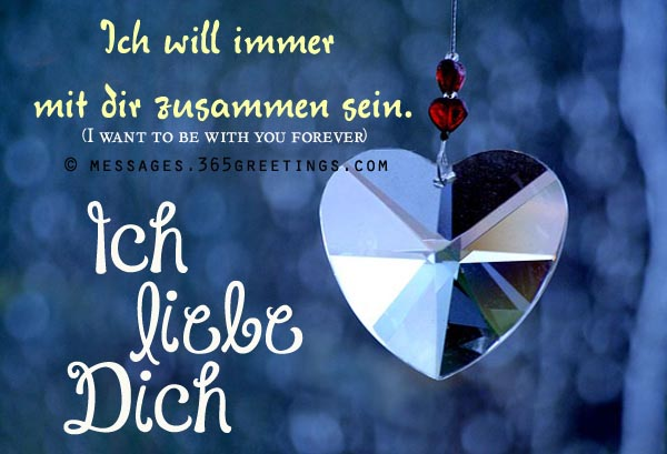 How to Say I Love You in German, Words of Love in German - Messages ...