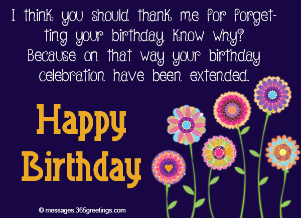 Belated Birthday Wishes Greetings And Belated Birthday Messages 365greetings Com