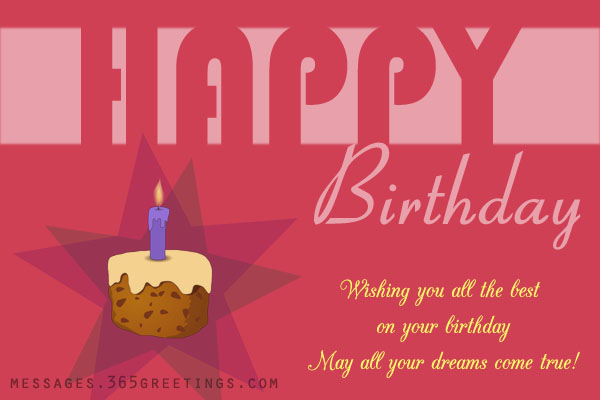 Birthday Card Greetings gangcraftnet – Birthday Card Texts