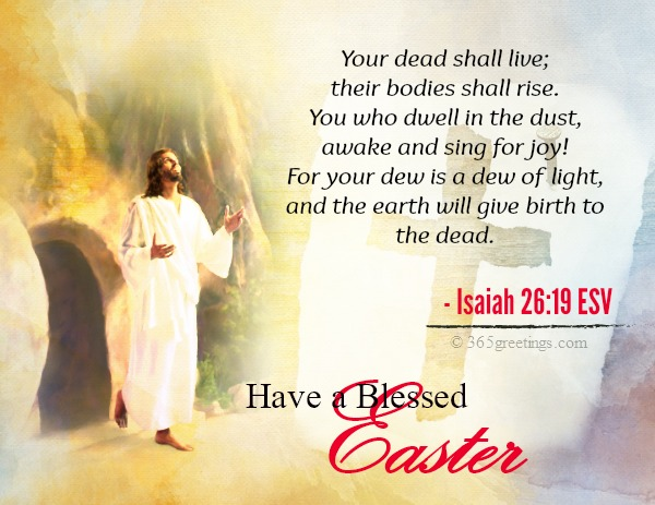 Bible Verses About Easter 365greetings