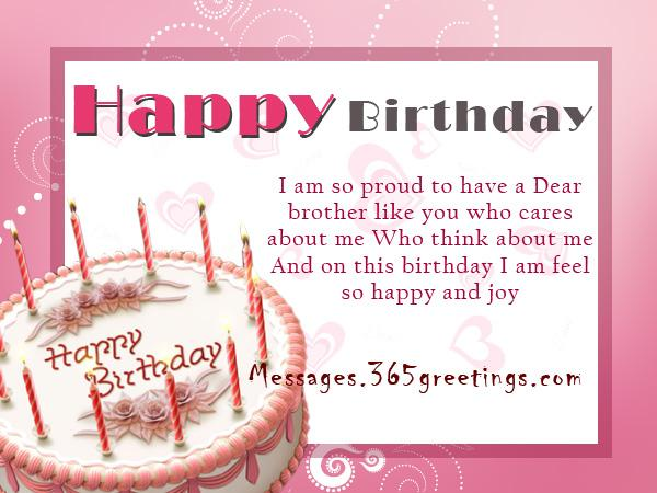 Birthday Greetings Messages And Birthday Wishes | Messages ...