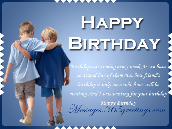 Birthday Wishes Greetings FOR Friend