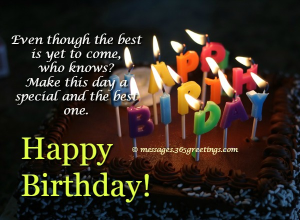 Happy birthday sms birthday wishes sms 365greetings i send this birthday wishes earlier before you inbox get crowded first of all i would like to say thank you and good luck to the new chapter of your life m4hsunfo