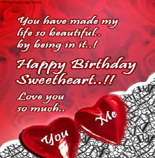 Birthday Wishes for Wife - Messages, Wordings and Gift Ideas
