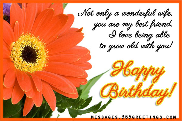 Romantic Birthday Wishes for Wife, Sweet Birthday Wishes