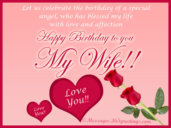 Sweet Birthday Messages for Wife