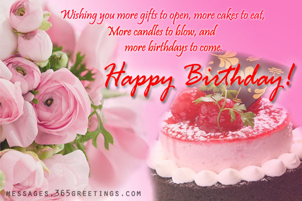 Birthday Wishes And Messages Messages Greetings and Wishes – Birthdays Greetings