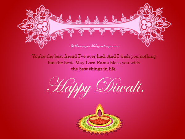 Diwali greetings and card messages 365greetings diwali card messages for family m4hsunfo