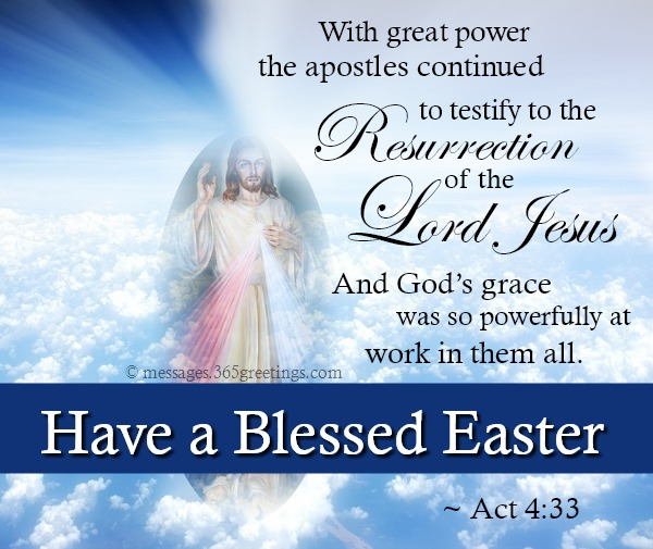 Bible Verses about Easter - 365greetings com