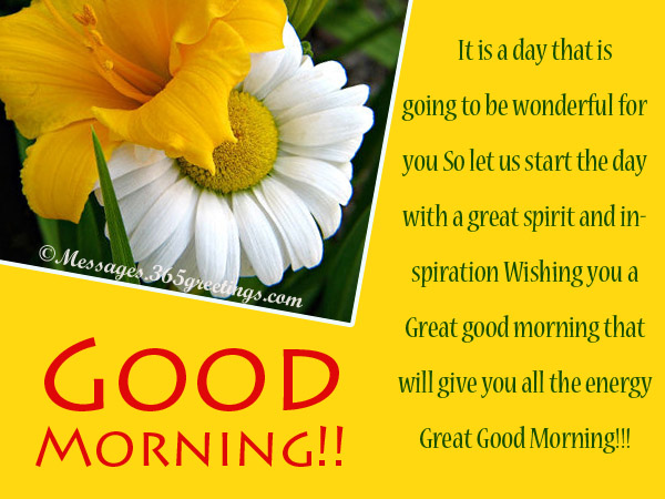 Good morning messages for friends 365greetings good morning greeting cards m4hsunfo