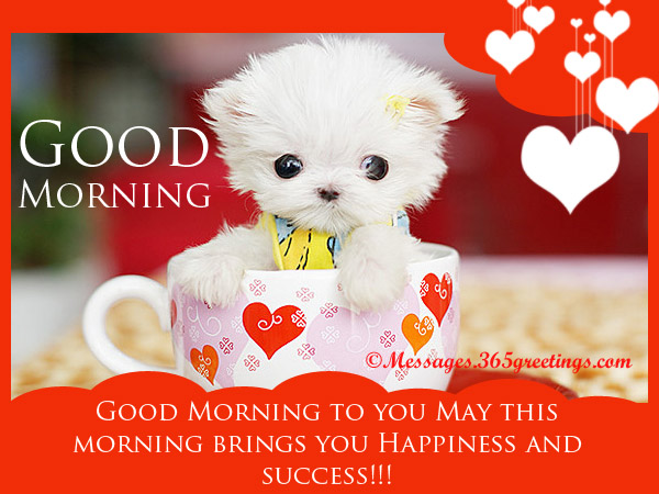 Good Morning Messages Archives - 365greetings.com