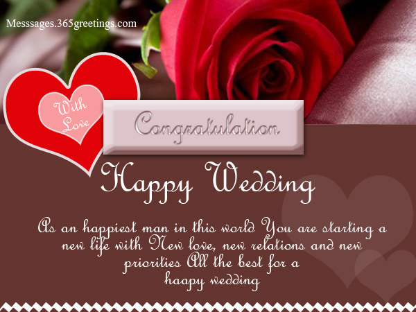 Good Wishes For Wedding
