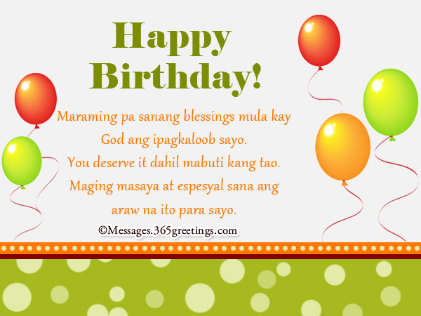 Happy birthday in tagalog 365greetings happy birthday greetings tagalog for him m4hsunfo