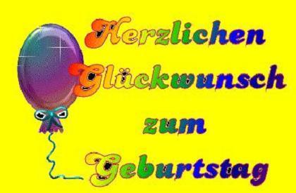 german birthday wishes