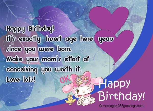 Birthday Wishes SMS 365greetings Source Image Messages365greetings