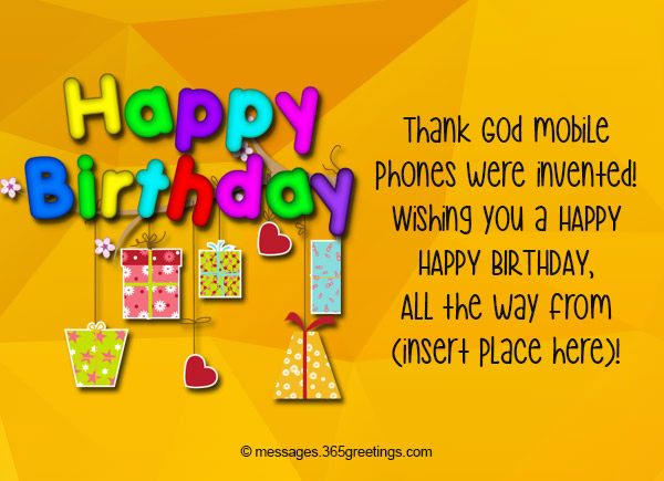 Happy Birthday SMS, Birthday Wishes SMS - 365greetings com