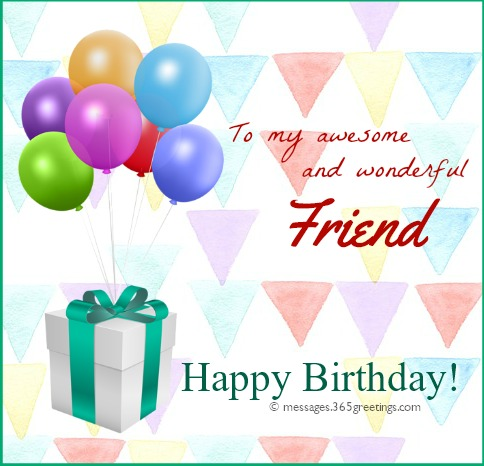 Happy birthday wishes for friends 365greetings use our samples of birthday wishes for friend as a guide or inspiration feel free to share your own birthday wishes for friend here m4hsunfo