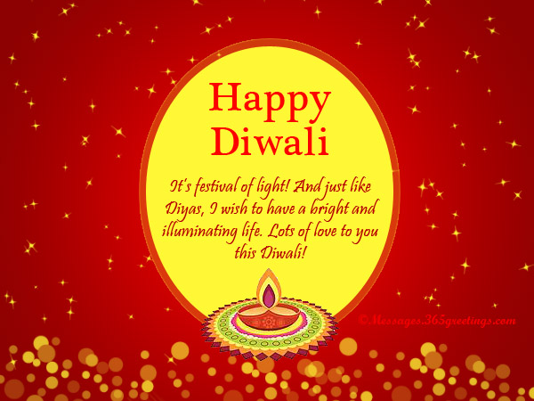 Diwali greetings and card messages 365greetings happy diwali card messages m4hsunfo