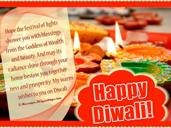 Happy Diwali Wordings