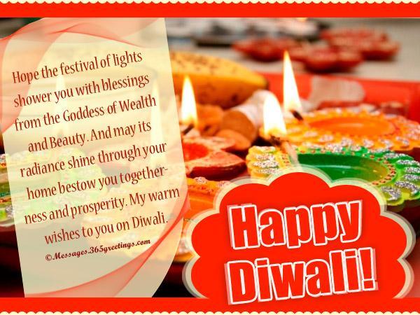 Happy Diwali Wordings