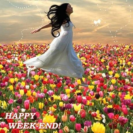 Happy Weekend Greetings