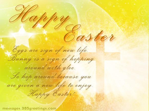 Religious Happy Easter Wishes