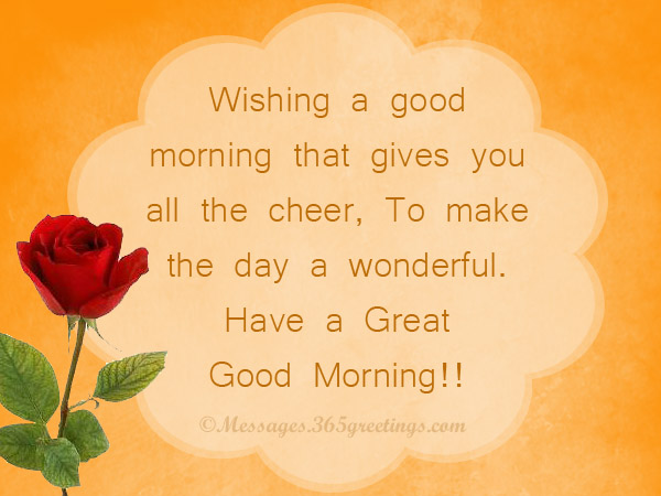 Good morning messages for friends 365greetings sweet good morning messags m4hsunfo