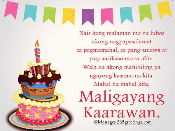 Tagalog birthday wishes 365greetings tagalog birthday messages for friend m4hsunfo