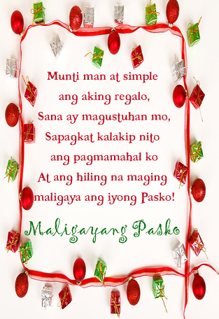 Nais ng maligayang pasko tagalog christmas wishes 365greetings so stopboris Image collections