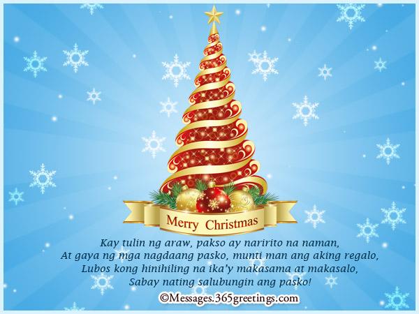 Charmant Tagalog Christmas Quotes