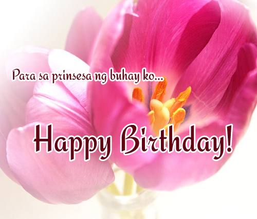 Tagalog birthday messages for girlfriend 365greetings birthdays m4hsunfo