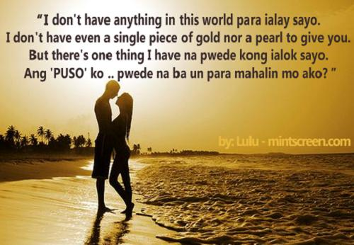 Tagalog love messages for girlfriend greetings
