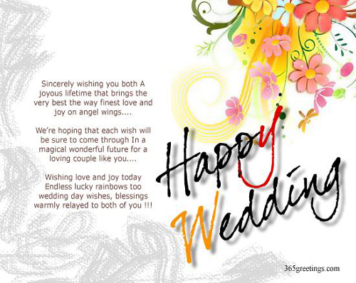Tagalog Wedding Wishes