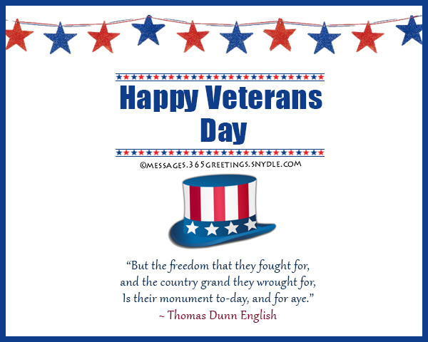 Image of: Messages Thankyouquotesforveteransday Messages Wishes And Quotes 365greetingscom Veterans Day Thank You Quotes 365greetingscom