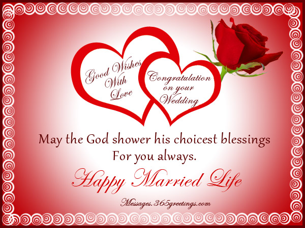 Nice Wedding Gift Message : wedding card messages christian wedding card messages wedding messages ...