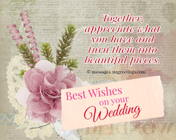 Wedding SMS Messages And Wishes