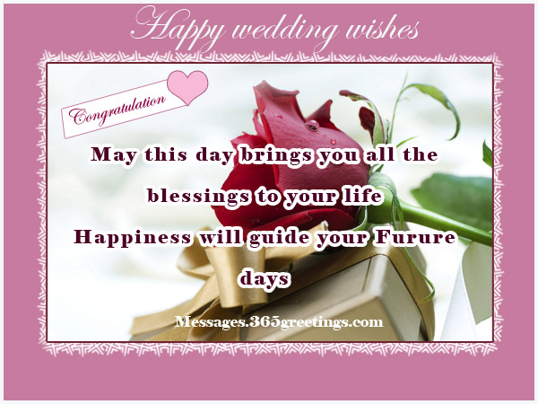 Wedding wishes and messages 365greetings wishes for wedding m4hsunfo
