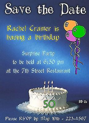 50th Birthday Invitations And Invitation Wording