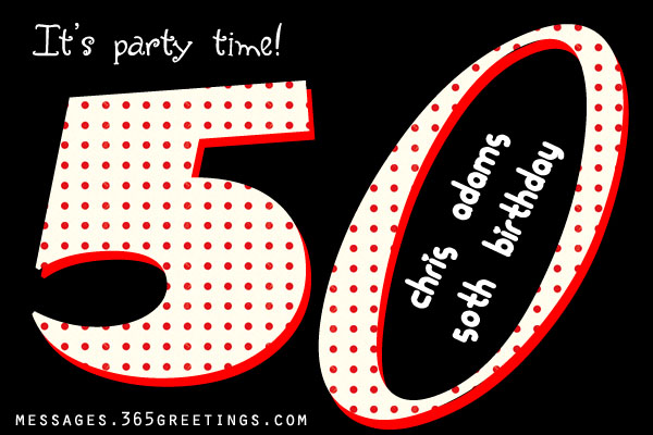 50th Birthday Invitations and 50th Birthday Invitation Wording – Party Invitations 50th Birthday