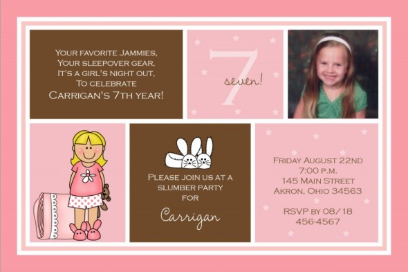7th birthday invitations vaydileforic 7th birthday invitations filmwisefo