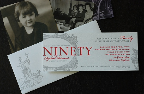 90th-Birthday-Invitation
