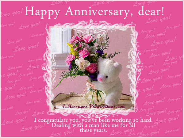 Funny Anniversary Wishes For Friends Marriage Messages Wife