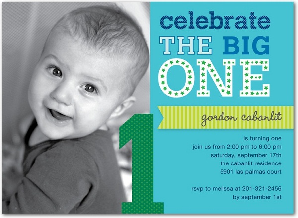 First Birthday Invitation Greetingscom - Birthday invitations for baby boy 1st