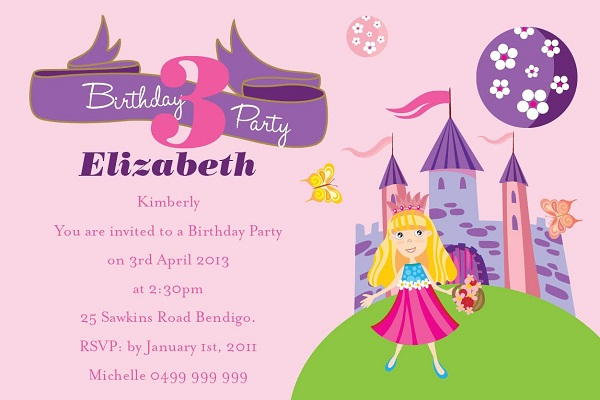 Birthday Invitations 365greetings – Invitation for the Birthday Party